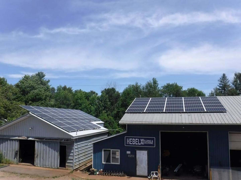 solar powered welding machine